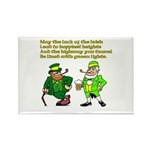 Luck of the Irish Rectangle Magnet (100 pack)