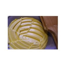 butter Rectangle Magnet