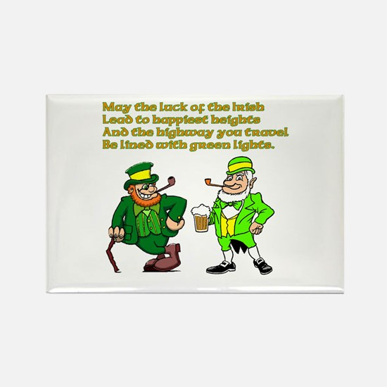 Luck of the Irish Rectangle Magnet