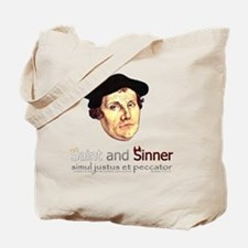 Saint and Sinner Tote Bag