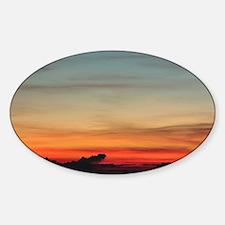 Haleakala Sunrise Sticker (Oval)