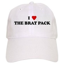 I Love THE BRAT PACK Baseball Cap