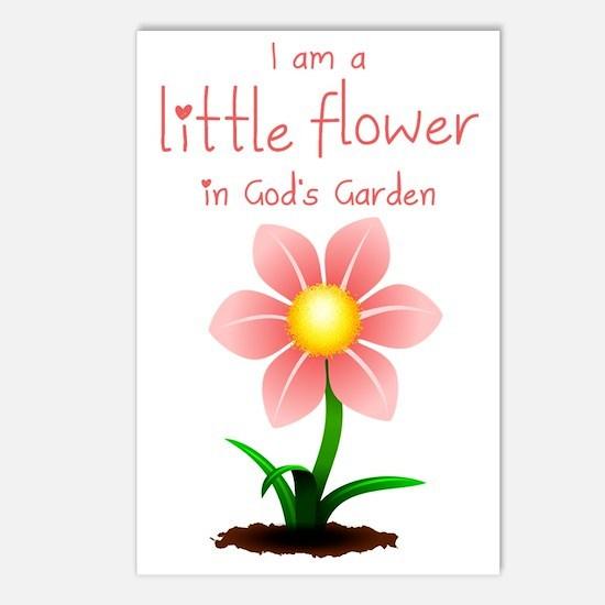 LittleFlower Postcards (Package of 8)