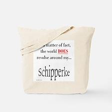 Schipperke World Tote Bag