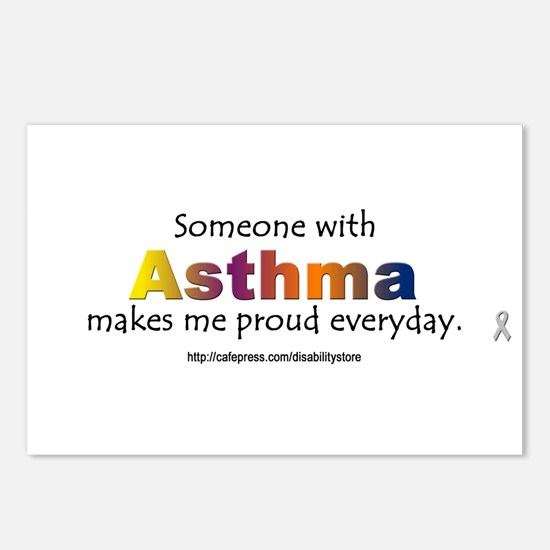 Asthma Pride Postcards (Package of 8)