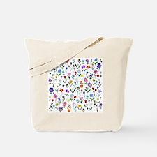 htlc flowers field Tote Bag