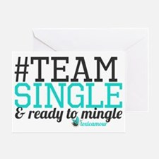 teamsingle Greeting Card