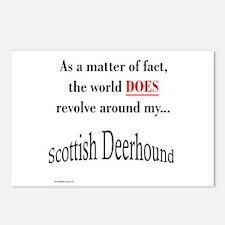 Deerhound World Postcards (Package of 8)