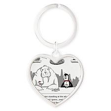 failedpenguin Heart Keychain
