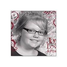 """Jodi_1_swirls_final Square Sticker 3"""" x 3"""""""
