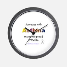 Asthma Pride Wall Clock
