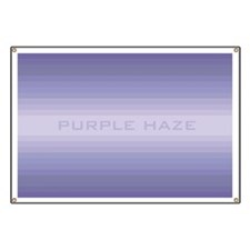 Purple haze wide Banner