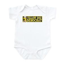 New Yellow Dog Democrat Infant Bodysuit