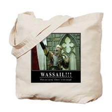 Wassail!!! Poster Tote Bag