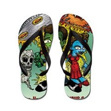 Sell You Your Soul Flip Flops