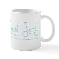 unfold_blue Small Mug