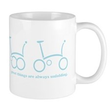 unfold_blue Small Small Mug