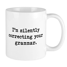 Grammar Small Mugs