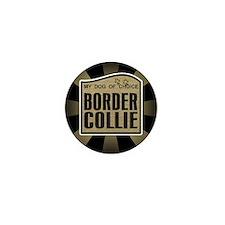 Border Collie Dog Lover Mini Button