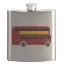 British Double Decker Bus Flask