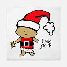 santa baby team jacob copy Queen Duvet