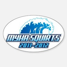 MYHA_Squirts.5 Sticker (Oval)