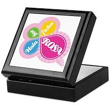 HOLA SOY FICHA ROSA Keepsake Box