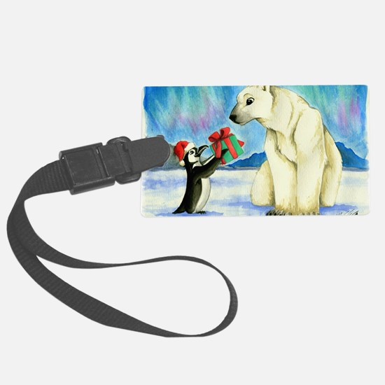 XmasCard Luggage Tag