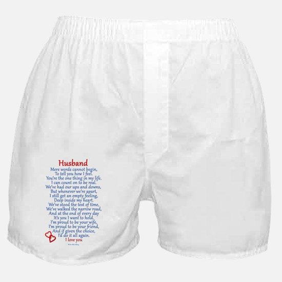 husband Boxer Shorts