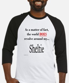 Sheltie World Baseball Jersey