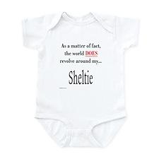 Sheltie World Infant Bodysuit