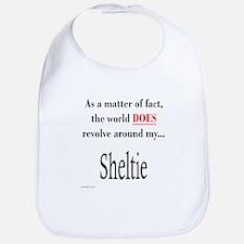 Sheltie World Bib