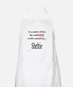 Sheltie World BBQ Apron