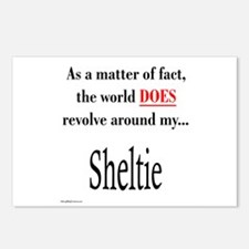 Sheltie World Postcards (Package of 8)