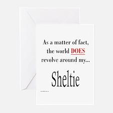 Sheltie World Greeting Cards (Pk of 10)