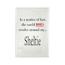 Sheltie World Rectangle Magnet