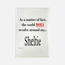 Sheltie World Rectangle Magnet