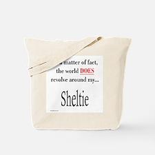 Sheltie World Tote Bag