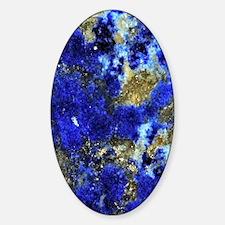 Lazurite-Blue-iPad Sticker (Oval)