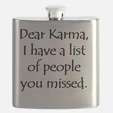 Dear Karma Flask