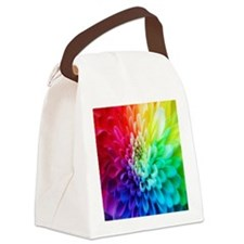 colorful_flowers-1574 Canvas Lunch Bag