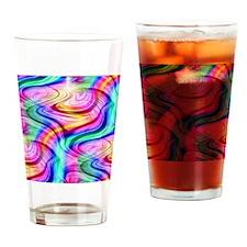 colorful_swirl Drinking Glass