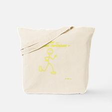 WhoaWhoJustFartleked_Yellow Tote Bag