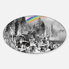 January1 Sticker (Oval)