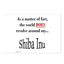 Shiba World Postcards (Package of 8)