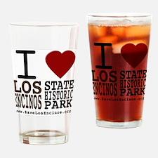 savelosencinos_whiteshirt Drinking Glass