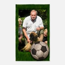 Your photo in a Soccer Frame 3'x5' Area Rug