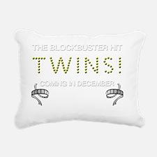 TWINS DECEMBER Rectangular Canvas Pillow