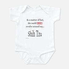 Shih Tzu World Infant Bodysuit