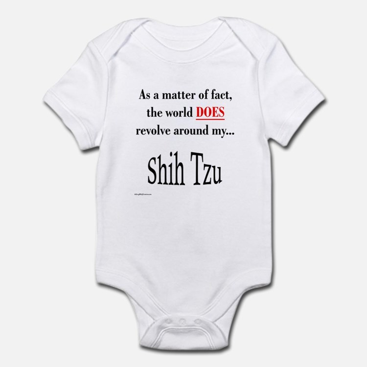 Shih Tzu World Infant Bodysuit
